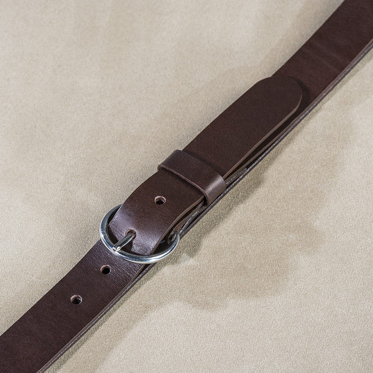 Leather belt for ladies Brown 2.